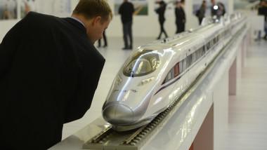 tren mare viteya china romania mediafax