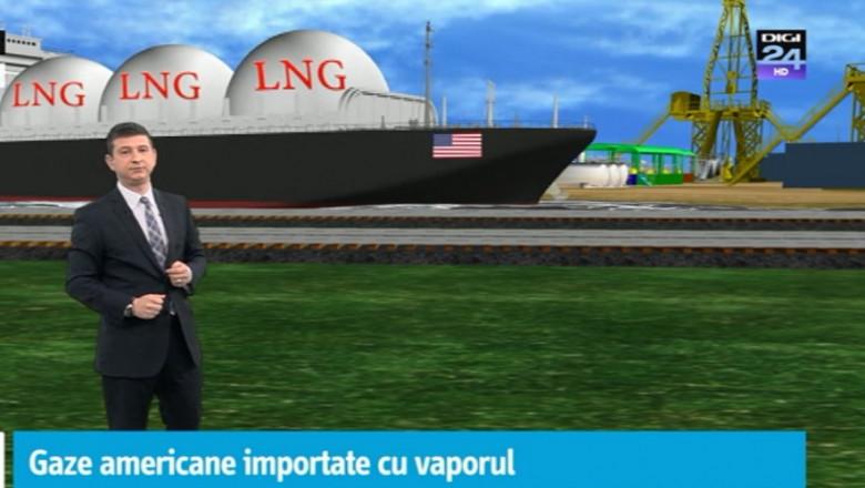 animatie gaze americane cu vaporul