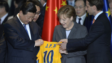 xi jinping in germania - afp-mediafax 1