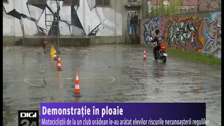 demonstratie moto