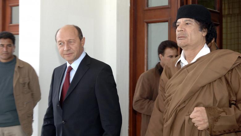 Gaddafi si Basescu presidency.ro