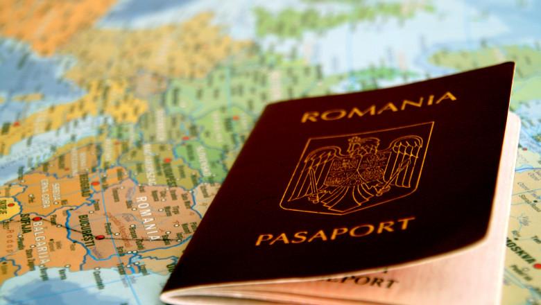 pasaport romania - mfax 1