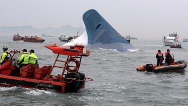 Feribot naufragiu Coreea de Sud crop - afp mfax-1