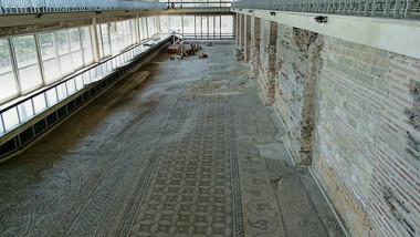 edificiul roman cu mozaic