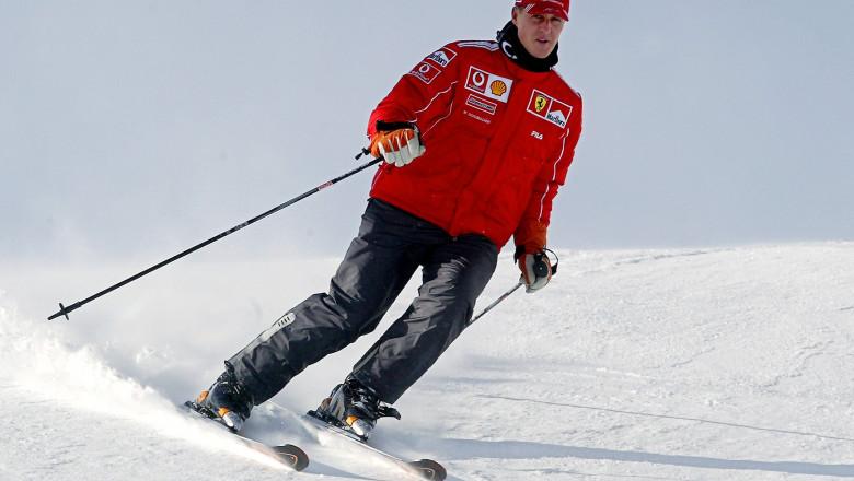 Michael Schumacher la schi-AFP Mediafax Foto-Vincenzo PINTO-1