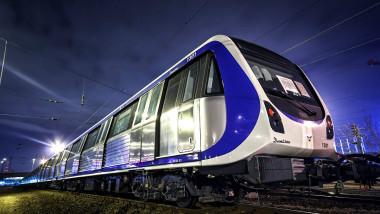 Noile trenuri de metrou Metrorex 4