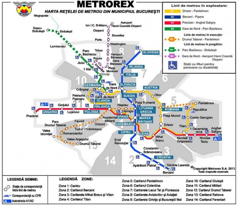 De Ziua Europei Stațiile De Metrou Au Nume Noi