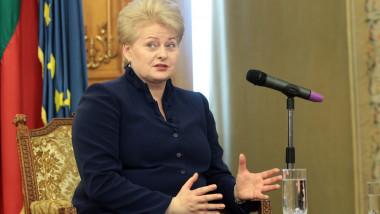 Dalia Grybauskaite5419651-Mediafax Foto-Silviu Matei