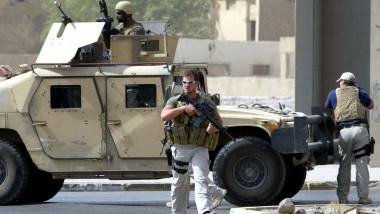 Mercenari Academi fost Blackwater - AFP Mediafax Foto-Ahmad AL-RUBAYE