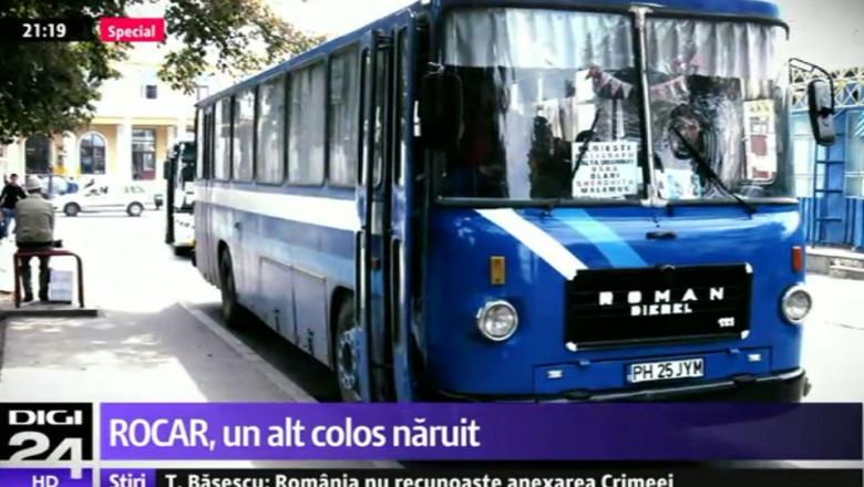 autobuz cu scris