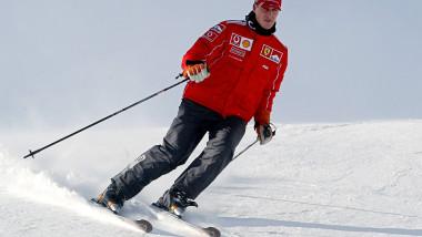 Michael Schumacher la schi-AFP Mediafax Foto-Vincenzo PINTO
