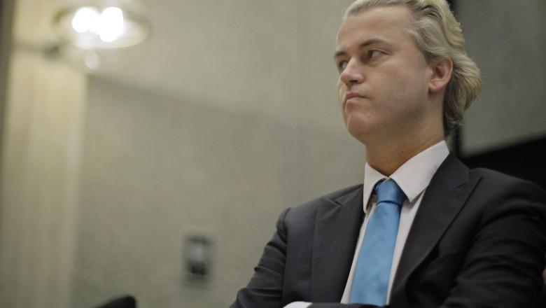 Geert Wilders liderul partidului PVV din Olanda