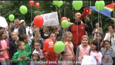 manifestatie tineretului