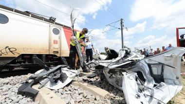 accident tren mediafax