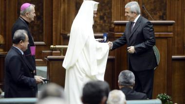 aniversare senat patriarh daniel tariceanu mediafax