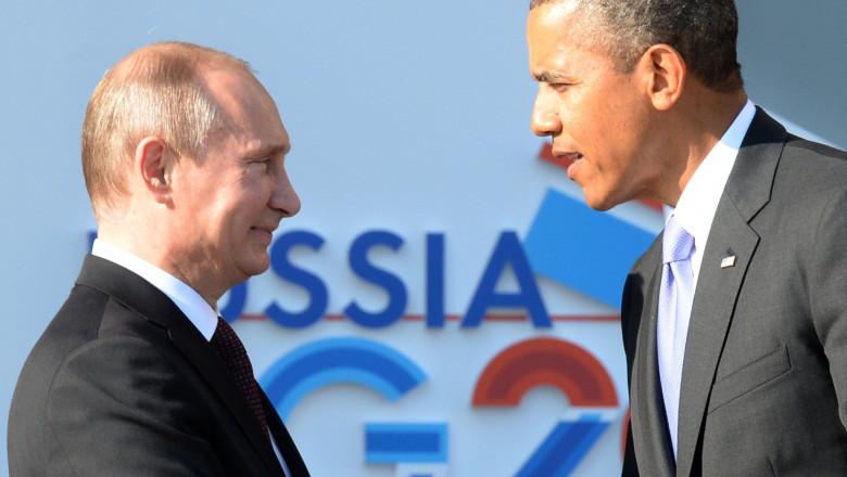 putin si obama - 6005103-AFP Mediafax Foto-YURI KADOBNOV
