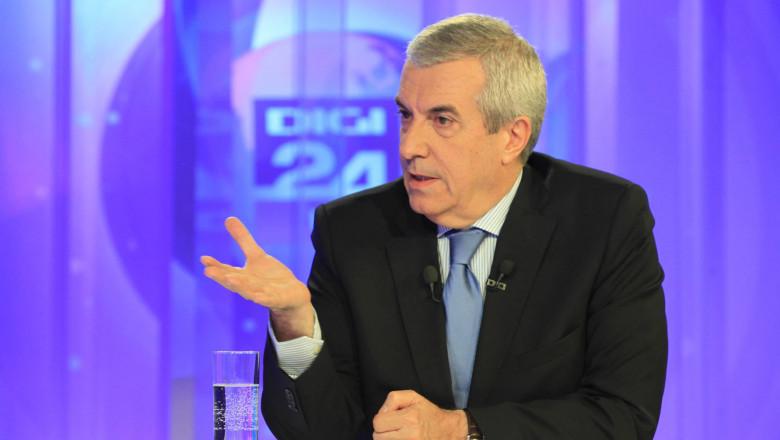 Calin Popescu Tariceanu la Digi24 4