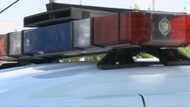 girofar masina de politie - captura digi24