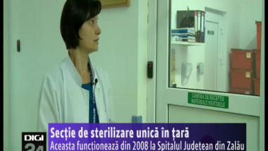 sectie sterilizare