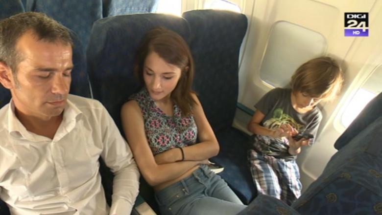 avion pasageri vacanta