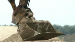 escavator autostrada nadlac arad