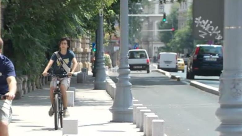 pista biciclete Victoriei