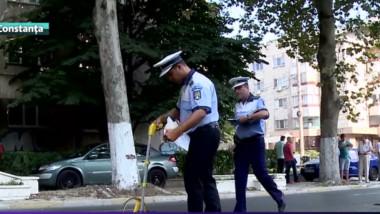 politisti rutiera masuratori