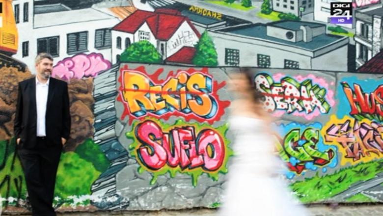 foto nunta grafitti