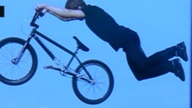 biciclist extrem