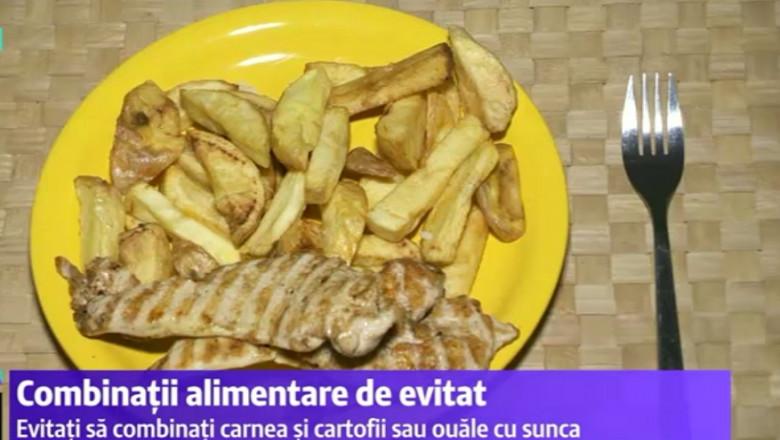 friptura cu cartofi