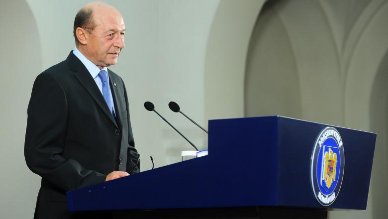 Traian Basescu declaratie la Cotroceni