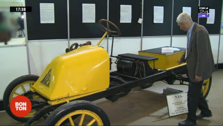 automobil electric 1900