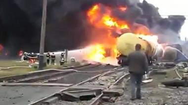 incendiu vagoane ucraina