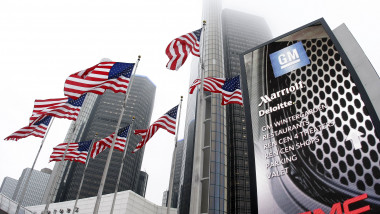GENERAL MOTORS SEDIU DETROIT -AFP Mediafax Foto-Bill Pugliano 1