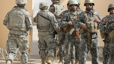 Militari americani in Irak-AFP Mediafax Foto-Ahmad AL-RUBAYE