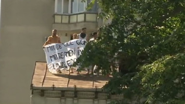 protest evacuati