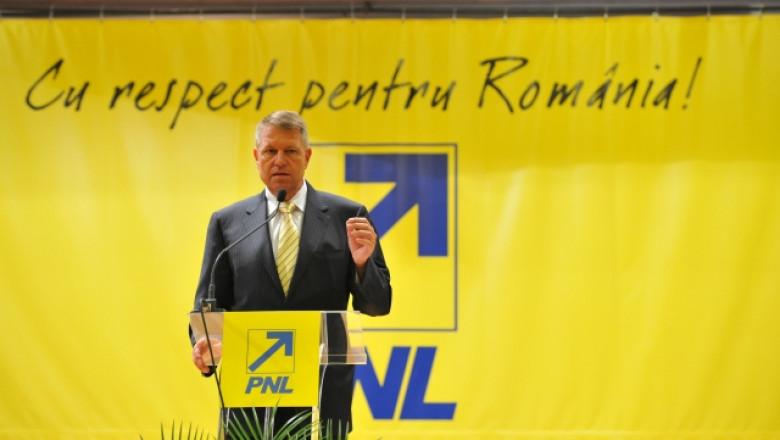 Klaus Iohannis PNL - pnl-1.ro