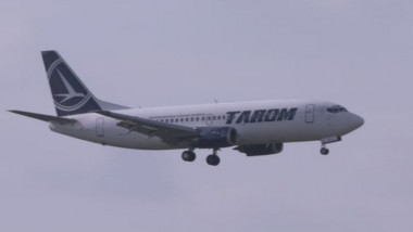 avion tarom - captura digi24