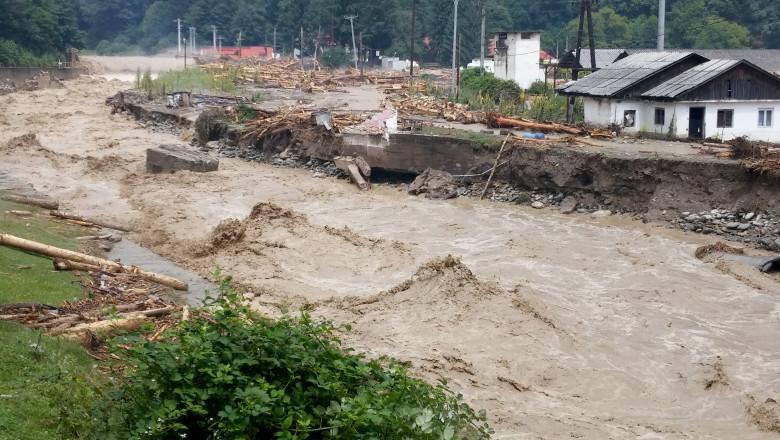 inundatii novaci gorj mediafax