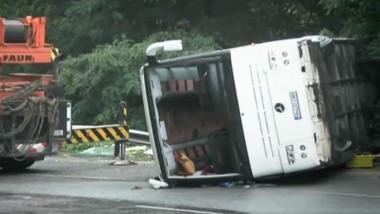 autocar rasturnat bulgaria