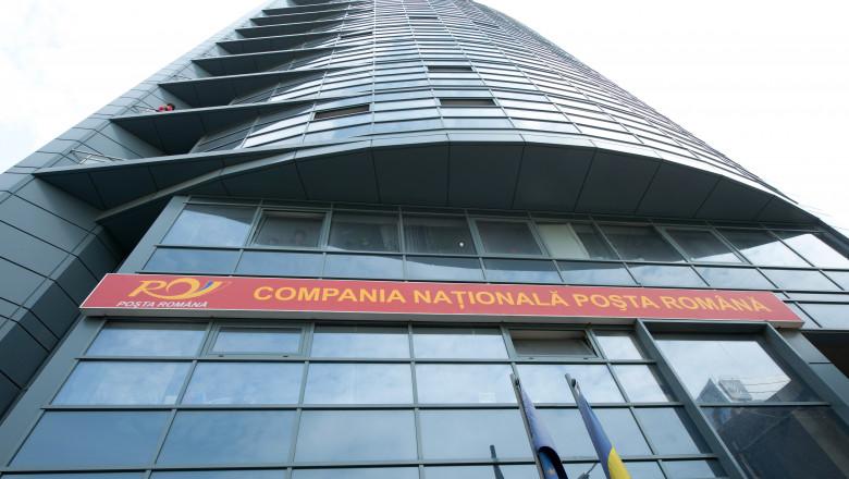 Compania Nationala Posta Romana cladire - Mediafax Foto-Victor Ciupuliga