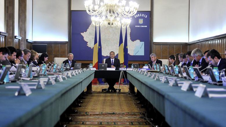 sedinta de guvern ponta - gov-2.ro