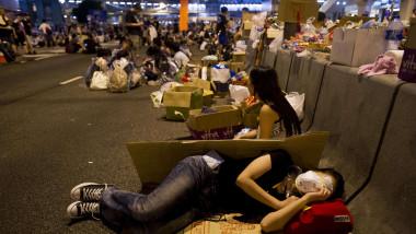 Proteste Hong Kong septembrie 2014 - AFP Mediafax Foto-Xaume Olleros