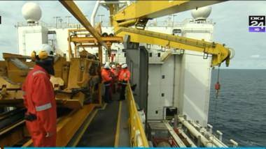 platforma petroliera captura muncitori