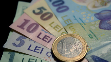 curs schimb valutar lei euro - mediafax-1