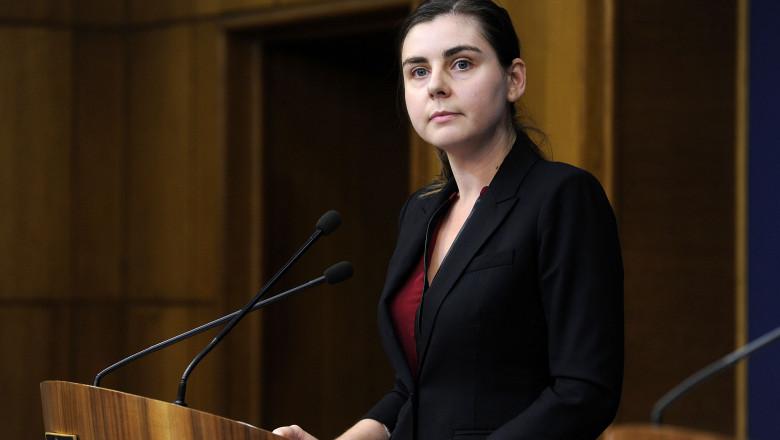 Ioana Petrescu ministru de Finante - gov 3