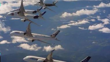 avioane airbus demonstratie