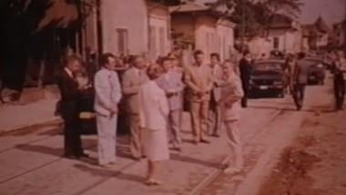 ceausescu in vizita
