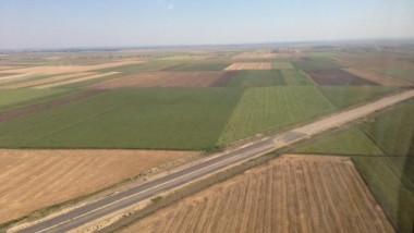 autostrada nadlac arad elicopter - sursa alaturi de presedintele nostru facebook