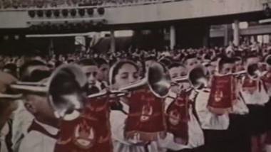 pionieri cu trompete